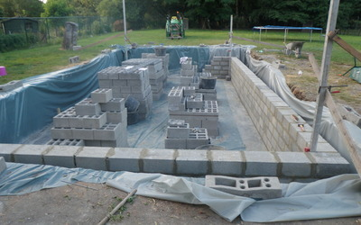 Algemene bouwwerken & renovaties Ketelslegers - Zwembaden